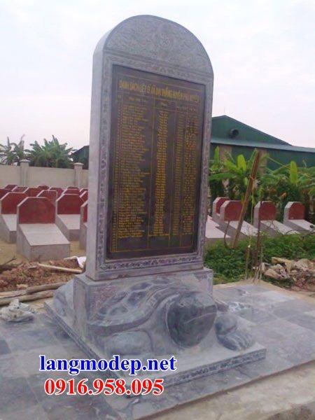Mẫu rùa đội bia ghi danh nhà thờ họ từ đường đình đền chùa miếu bằng đá Ninh Bình tại Kiên Giang