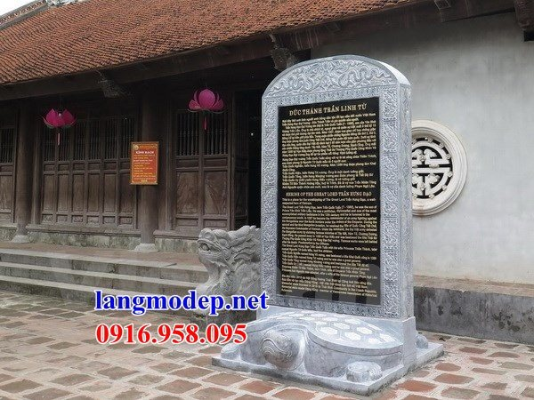 Mẫu rùa đội bia ghi danh nhà thờ họ từ đường đình đền chùa miếu bằng đá kích thước chuẩn phong thủy tại Kiên Giang
