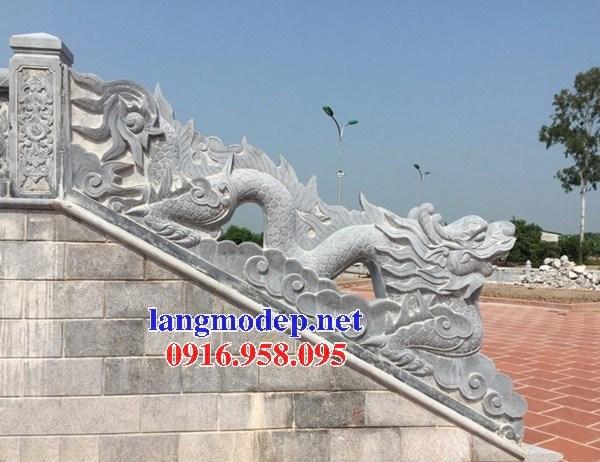 Mẫu rồng từ đường bằng đá tự nhiên cao cấp tại Bạc Liêu