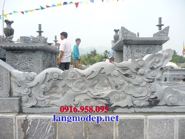 Mẫu rồng từ đường nhà thờ họ đình chùa miếu bằng đá tự nhiên tại Ninh Bình