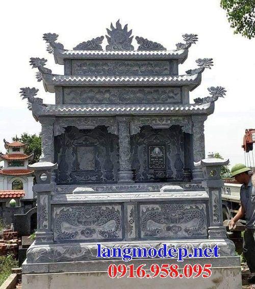 Mẫu mộ đá đôi gia đình bán tại Bình Phước