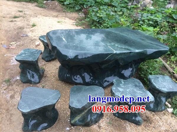 9 Bộ bàn ghế sân vườn bằng đá đẹp