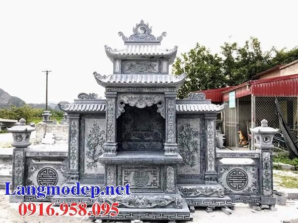 Cây hương thờ chung nghĩa trang gia đình dòng họ bằng đá bán báo giá tại Cà Mau