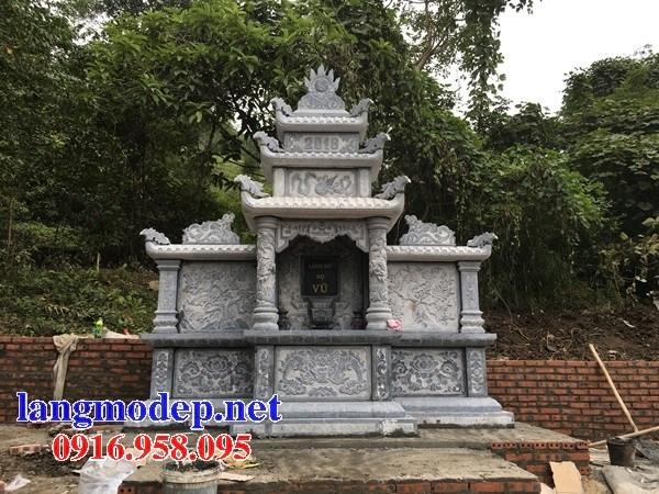 Mẫu cây hương thờ chung nghĩa trang gia đình dòng họ bằng đá chạm khắc hoa văn tinh xảo tại Cần Thơ