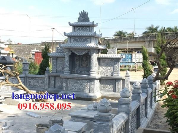 Mẫu cây hương thờ chung nghĩa trang gia đình dòng họ bằng đá mỹ nghệ tại Cần Thơ