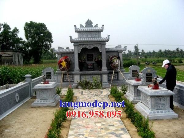 Mẫu cây hương thờ chung nghĩa trang gia đình dòng họ bằng đá thiết kế đẹp tại Cần Thơ