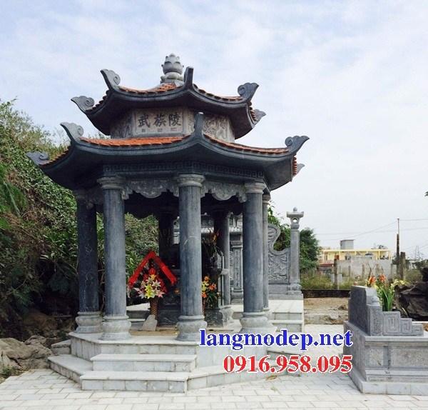 Mẫu củng thờ chung bằng đá tại Kiên Giang