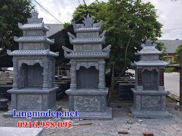 Mẫu củng thờ chung nghĩa trang gia đình dòng họ bằng đá bán báo giá tại Kiên Giang