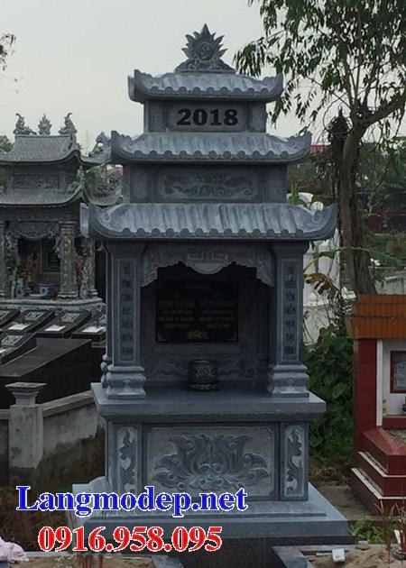 Mẫu lăng thờ chung nghĩa trang gia đình dòng họ bằng đá bán báo giá tại Bến Tre