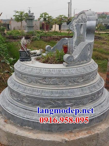 Ý nghĩa mộ tròn bằng đá kích thước chuẩn phong thủy đẹp tại Trà Vinh