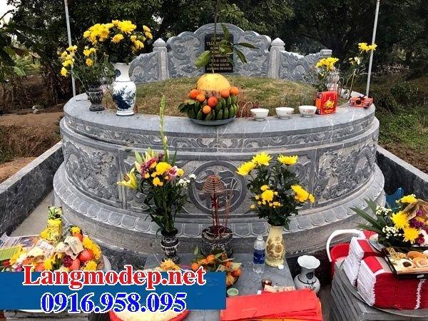 Ý nghĩa mộ tròn bằng đá tự nhiên nguyên khối đẹp tại Trà Vinh
