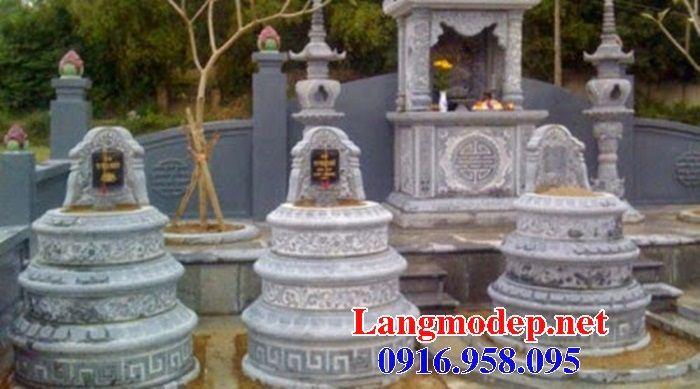 Ý nghĩa mộ tròn bằng đá thiết kế cơ bản đẹp tại Trà Vinh