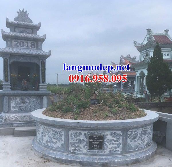 Bán sẵn mộ tổ tròn bằng đá mỹ nghệ Ninh Bình đẹp tại Ninh Bình
