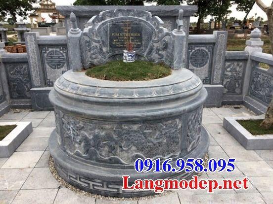 Hình ảnh mộ tròn bằng đá bán tại Cao Bằng