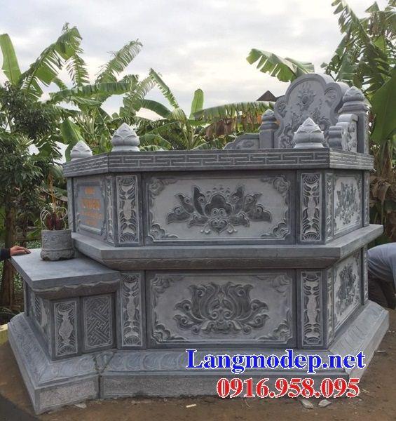 Lăng mộ bát giác bằng đá chạm trổ tứ quý bán tại Thanh Hóa