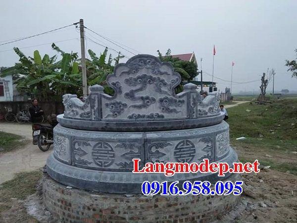 Lăng mộ tổ tròn bằng đá mỹ nghệ Ninh Bình bán tại SócTrăng