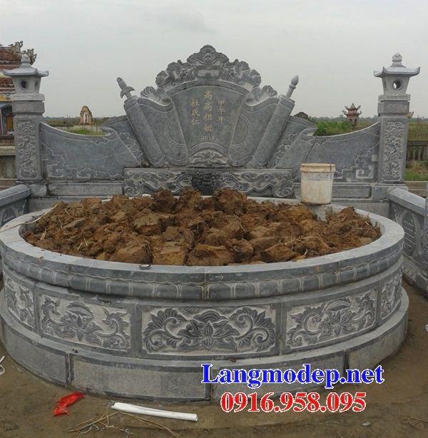 Lăng mộ tổ tròn bằng đá xanh Thanh Hóa bán tại SócTrăng