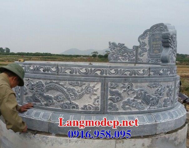 Lăng mộ tròn bằng đá điêu khắc rồng bán tại Bà Rịa Vũng Tàu