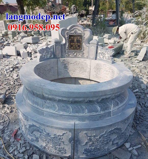Lăng mộ tròn bằng đá xanh Thanh Hóa bán tại Bà Rịa Vũng Tàu