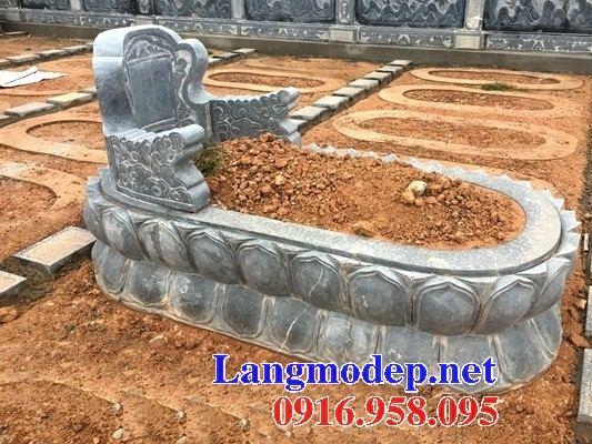 Lăng mộ tròn kích thước lớn bằng đá mỹ nghệ Ninh Bình tại Tây Ninh