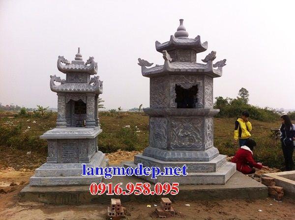Mẫu mộ đá lục lăng bán sẵn tại Quảng Nam