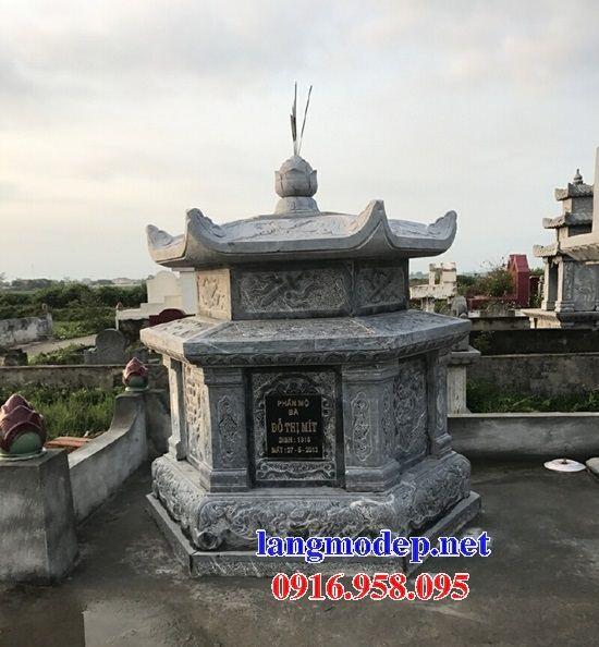 Mẫu mộ bát giác lục lăng bằng đá mỹ nghệ bán tại Nghệ An