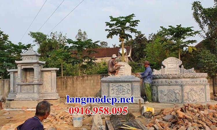 Mẫu mộ tròn đẹp nhất Việt Nam bằng đá chạm khắc hoa văn tinh xảo tại Hậu Giang