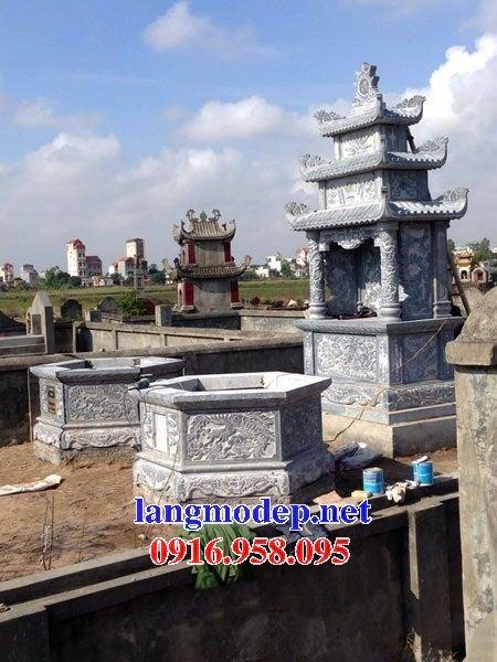 Mộ bát giác bằng đá điêu khắc rồng bán tại Thừa Thiên Huế