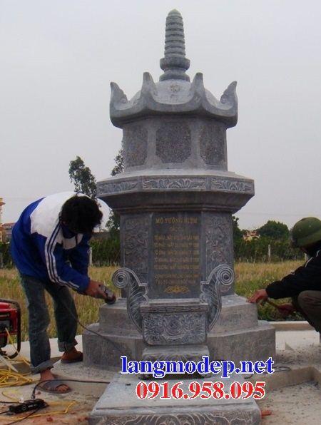 Mộ bát giác bằng đá kích thước chuẩn phong thủy bán tại Thừa Thiên Huế