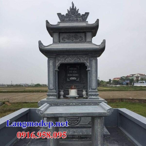 Địa chỉ bán lăng mộ dòng họ bằng đá thiết kế đơn giản đẹp tại Sơn La