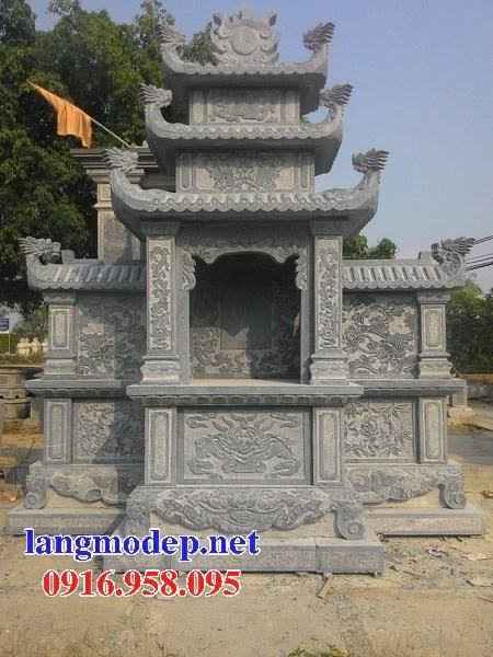 Địa chỉ bán lăng mộ dòng họ bằng đá xanh Thanh Hóa đẹp tại Sơn La