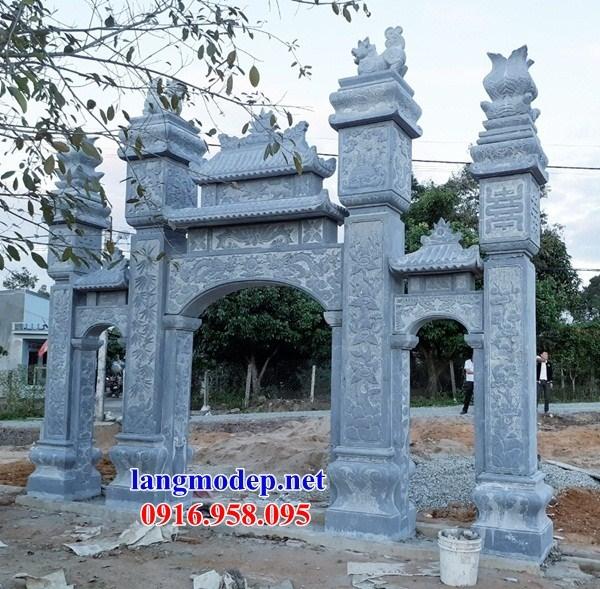 Cổng tam quan bằng đá xanh bán tại Phú Thọ