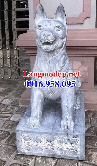 Mẫu chó đá canh cổng đẹp tại Điện Biên