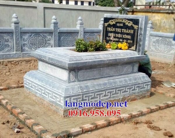 Mẫu mộ không mái hậu bành bằng đá mỹ nghệ Ninh Bình bán chạy nhất năm 2021