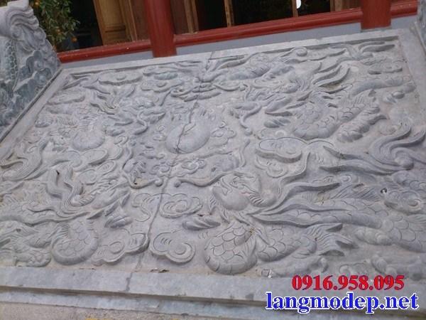 Rồng bậc thềm chiếu rồng bằng đá điêu khắc rồng phượng đẹp bán tại Bến Tre