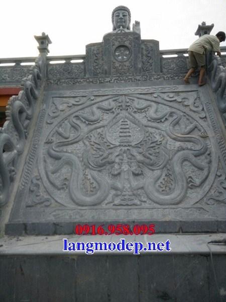 Rồng bậc thềm chiếu rồng bằng đá thiết kế hiện đại đẹp bán tại Bến Tre