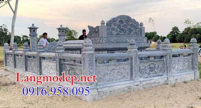 Mẫu hàng rào đá nhà mồ tại An Giang đẹp