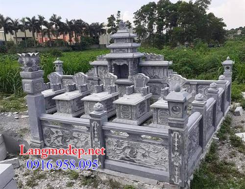 Hàng rào đá lăng mộ tại Bình Dương
