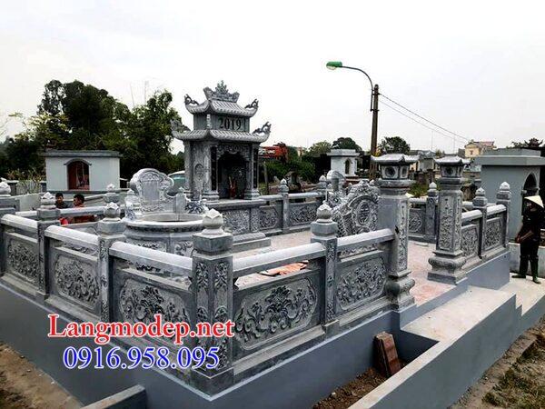 Mẫu tường rào bằng đá đẹp nhất cho khu nhà mồ bán tại Bình Phước