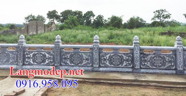 Tường rào đá nhà mồ tại Cần Thơ