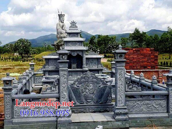 Tường rào đá nhà mồ tại Ninh Thuận