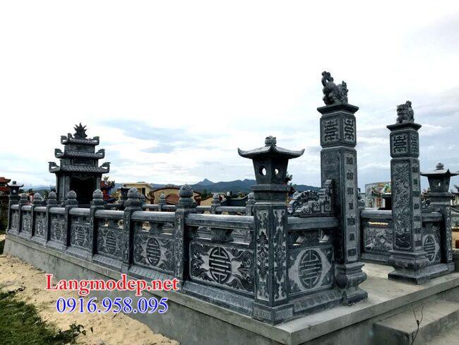 khu mộ gia đình tại An Giang