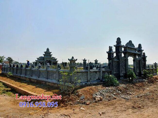 khu mộ gia đình tại Bạc Liêu