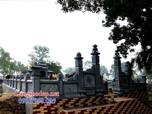 khu mộ gia đình tại Bến Tre