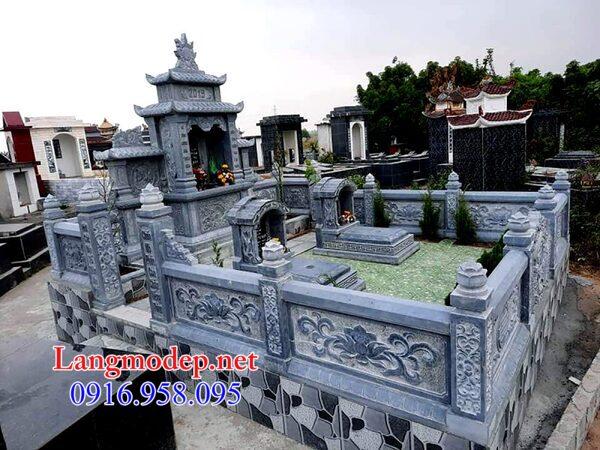 mẫu lan can bằng đá đẹp nhất cho khu nhà mồ tại Đồng Nai
