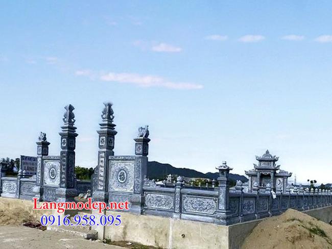 mẫu nhà mồ đẹp bằng đá tự nhiên tại An Giang