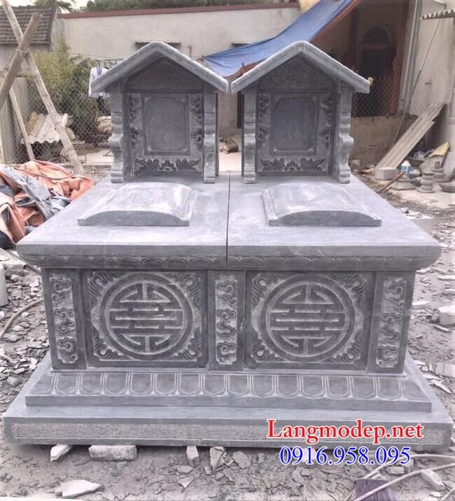 Giá mộ đôi bằng đá