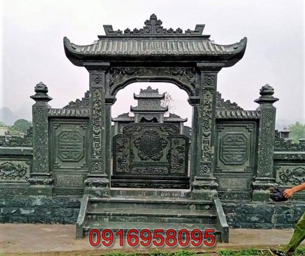 Lăng mộ đá xanh rêu đẹp