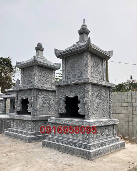 Tháp mộ đá đẹp