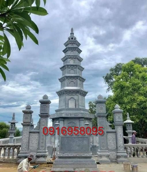 Tháp mộ đá đẹp 03